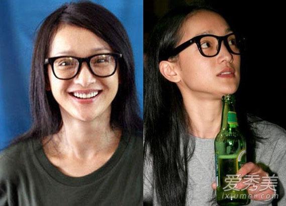 章子怡周迅林心如 40岁女星未ps素颜不能见人图片