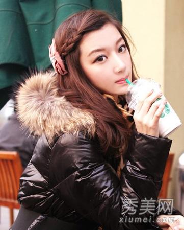 diy韩国流行发型 新年可爱扎发发型