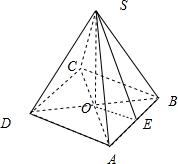 因为菱形的对角线相等,所以底面是正方形,几何体的图形如图: =, =50图片