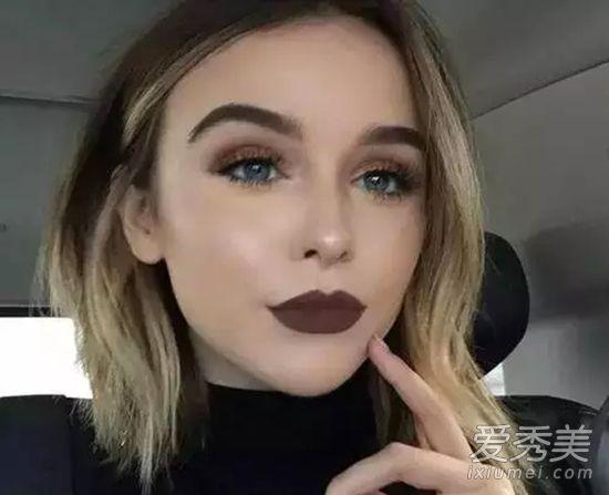怎么画欧美眼妆 妆感比韩国妹子成熟热辣图片