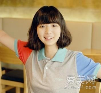 2013流行的女学生短发发型 甜美可爱挡不住图片