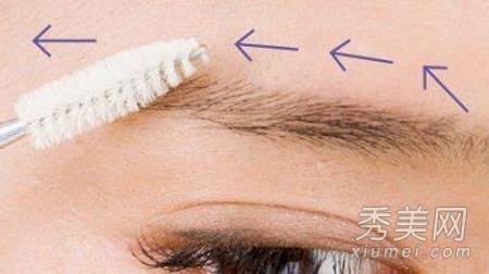 图解眉毛画法:韩式一字眉vs自然粗眉图片