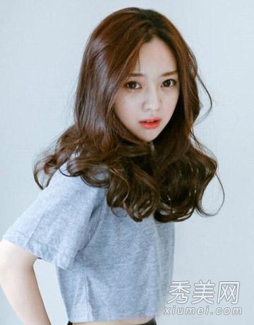 最新流行韩式中长型图片 速成气质邻家女图片