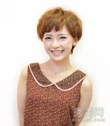 圆脸必看发型 8款圆脸适合的短发图片