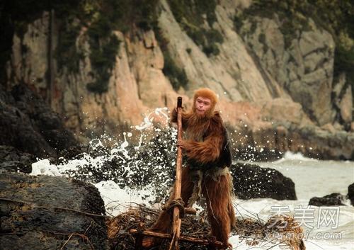 石猴版伏地魔?美猴王刚出生的样子不是一般的恐怖!图片