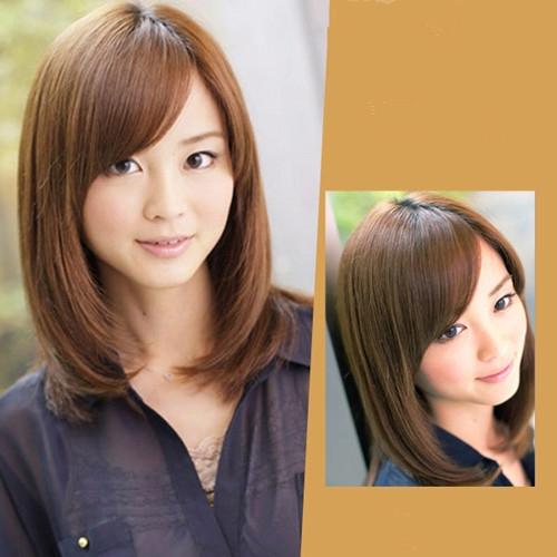 风靡lob发型图片大全来来势 秀发齐肩超减龄修颜图片