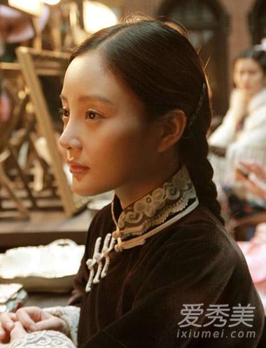 女星扎堆民国戏 赵丽颖陈乔恩演绎年代发型图片