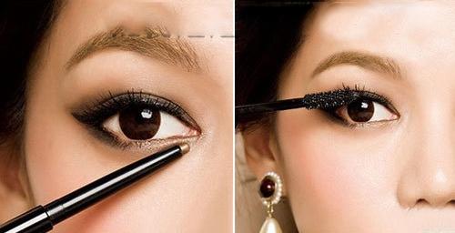 法式猫眼妆的画法教程 缔造优雅大眼妆图片