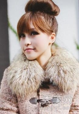 冬季7款时尚扎发 约会扮萌必备发型_美容护肤知识大全图片
