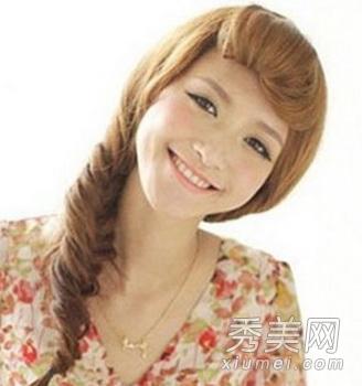 10款最hot韩式扎发发型 甜美可人_美容护肤知识大全图片