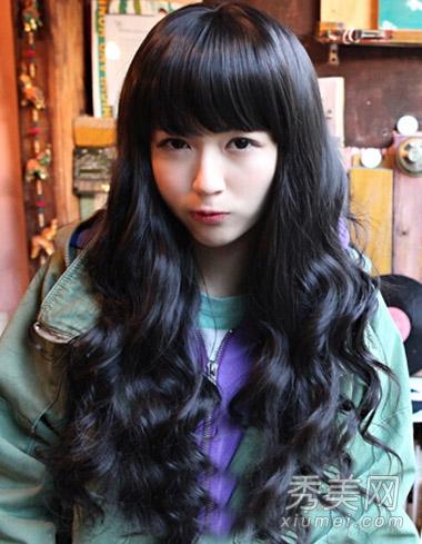 冬季韩国流行发型 清新甜美做女神_美容护肤知识大全图片