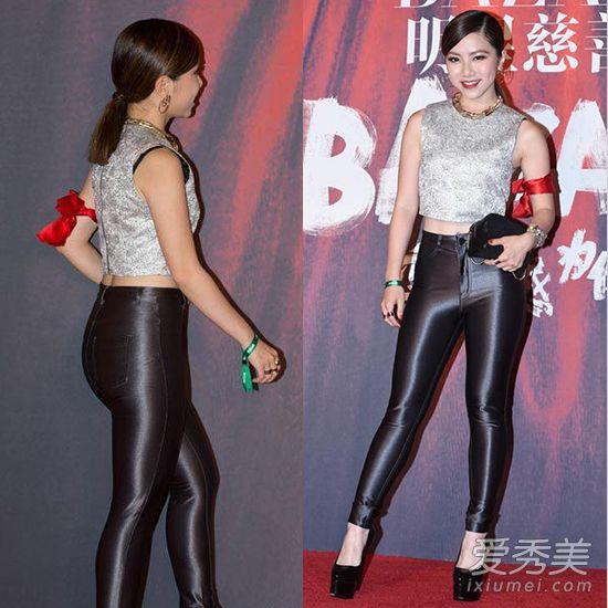 臀眼小�_要知道皮裤可是对身材要求很高的啊,腿粗臀肥的人穿那简直就是自曝