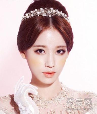 冬季最新款 韩式新娘发型推荐_美容护肤知识大全_百度图片