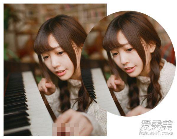 com 学生头怎么扎好看八 可爱的软妹纸适合什么发型呢,这一款扭转的双图片