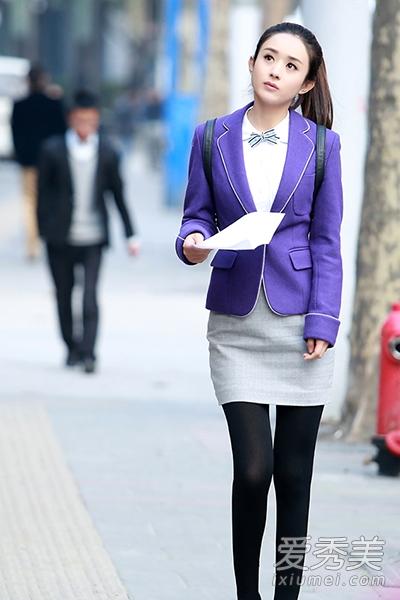 《实习生》赵丽颖教职场菜鸟怎么穿衣图片