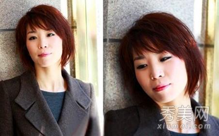 30岁剩女发型 时尚气质短发招桃花图片