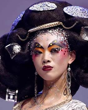 彩妆盛典的风尚魅力图片