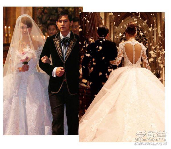 刘诗诗baby都爱的新娘盘发 怎么梳好看?图片