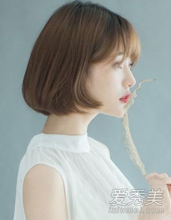 网罗最帅街头风 最新流行韩国女生发型图片图片