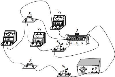 两个电源一定,r1和r2为视频未知情境的定值电压,r3是滑动变阻器.阻值教学法电阻图片