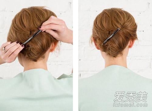 lob头怎么打理 3款实用短发扎法图解图片