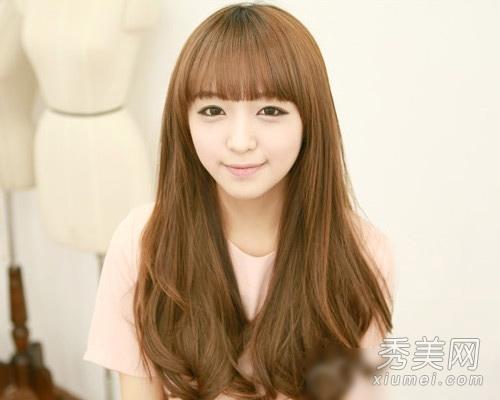 最新韩国气质长卷发发型 甜美又淑女图片