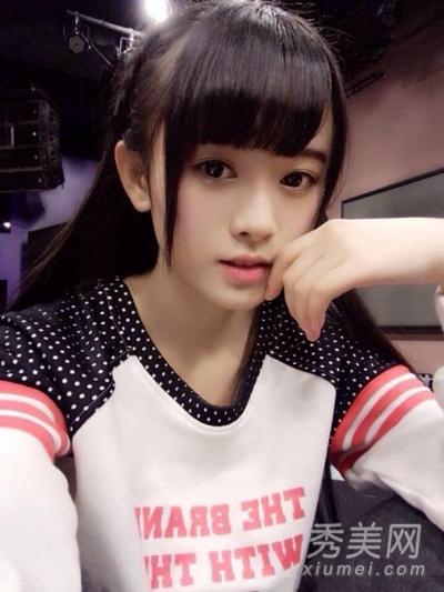 中国千年第一美女鞠婧祎清纯发型盘点图片