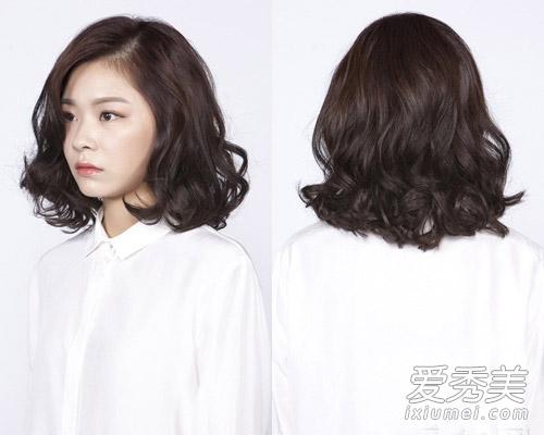 2015年流行韩式中长发 少了卷发怎么活!图片