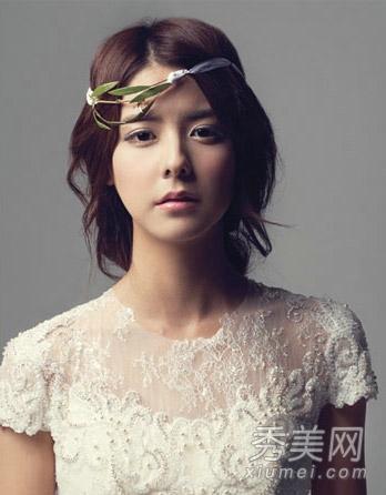 年底结婚季 16款韩式新娘发型气质超美图片