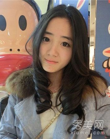 2014最新女生发型 韩式卷发小清新图片