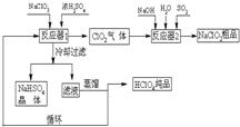工业上生产高氯酸(沸点:90°c)时还同时生产了亚氯酸钠,其工艺流程如图片