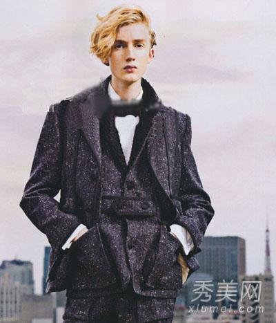 绅士或嬉皮 欧美男士发型时尚范儿图片