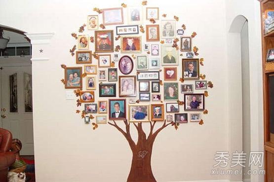 创意家居 照片墙装饰九大招图片