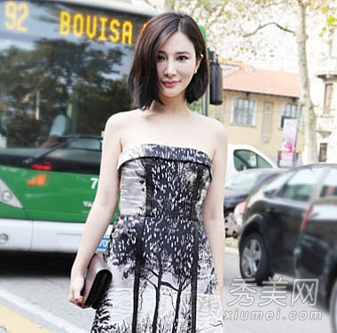 小宋佳刘诗诗 盘点靠发型成功逆袭女星图片