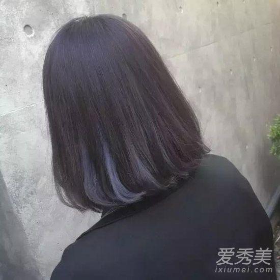 黑色头发挑染哪种颜色最好看?挑染颜色怎么选?图片