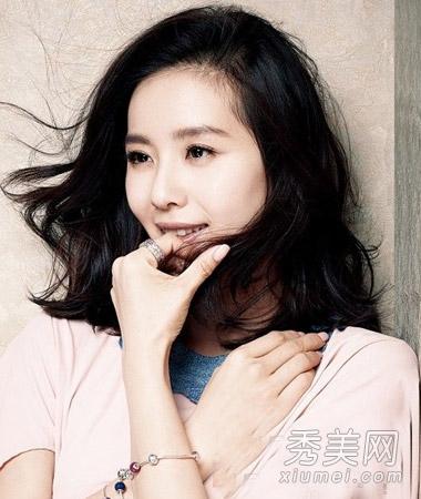 刘诗诗最新大片发型盘点 时尚美丽女神范图片
