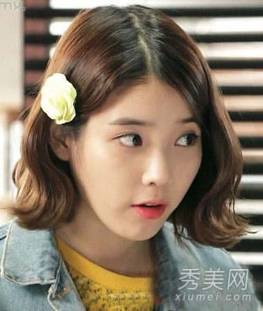 学国民妹妹李智恩短发 矮个女也有春天图片
