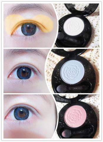 怎样化彩妆步骤_彩妆 化妆品 眼影 350_479 竖版 竖屏