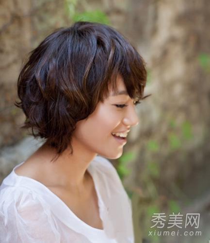 杨丞琳朱丹 示范小清新短发发型图片