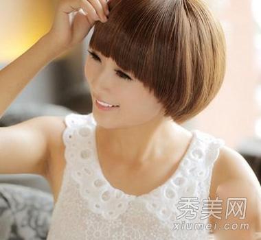 秋季流行女生时尚短发 学生头最显气质图片