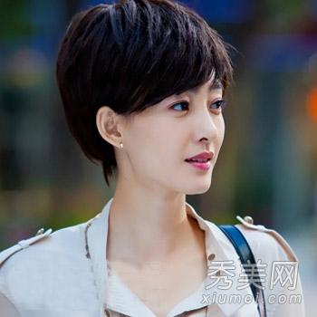 王丽坤《爱的多米诺》短发变时尚女强人