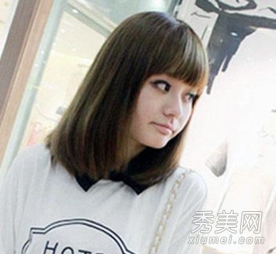 2013最新齐肩短发发型 简约优雅又时尚图片