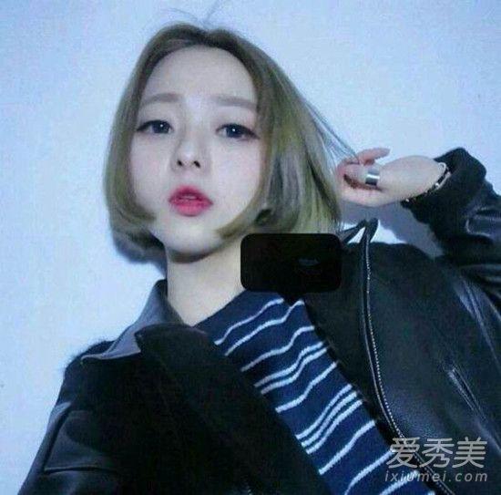 韩国女生短发造型集锦 13款look怎么剪都好看图片