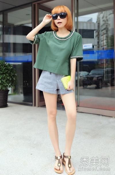 短发女孩穿衣搭配 8种穿法最时髦图片