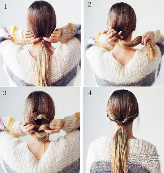 夏季长发怎么扎好看?6款扎发教程真心很实用图片