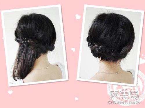 一头中长发的发型,那么就来看看小编带来的2款关于中长发的diy教程吧!图片