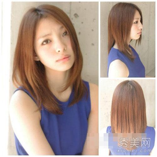 ol发型设计:8款简约发型提升品味