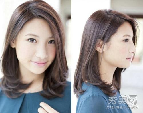 2013冬季女生发型 16款显瘦中短发最流行图片
