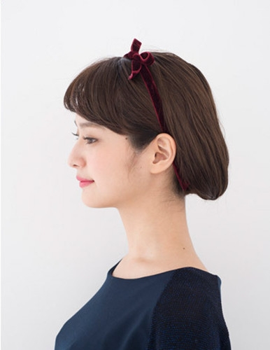 com 时尚指数:★★★★★ 时尚看点:将长发扎成短发的这款扎发发型,看图片