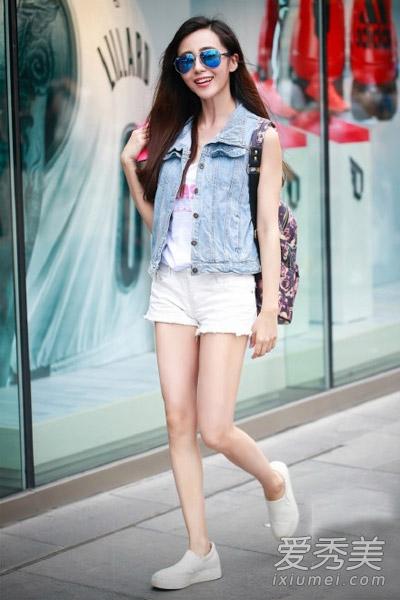 街拍美女�z(�y��9n�_7月北京街拍 美女个个都是穿衣高手